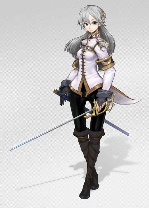 Anime woman photo battle outfits women - Anime female warrior ...
