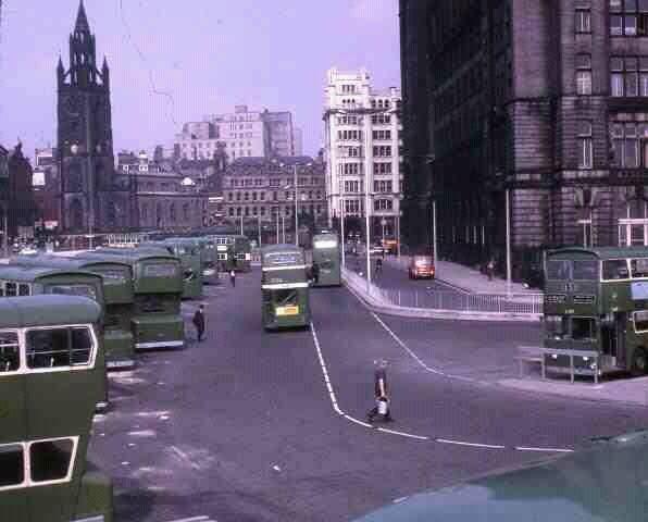 Pier Head bus terminus 1970's   Old Liverpool   Liverpool ...