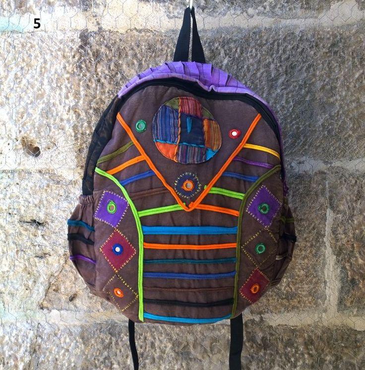 KARGO BİZDEN Çok Tarz Bohem Sırt Çantası , Okul çantası Keten Çanta, Nepal Çanta , Etnik Çanta - 05 Zet.com'da 59 TL