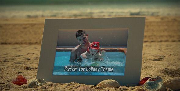 Photos On The Beach II - Motion