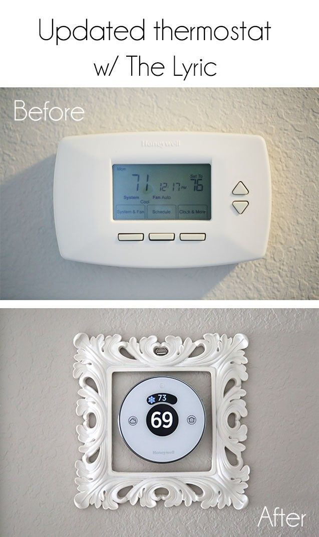Update your old-fashioned thermostat with the newly designed #Lyric #sponsored