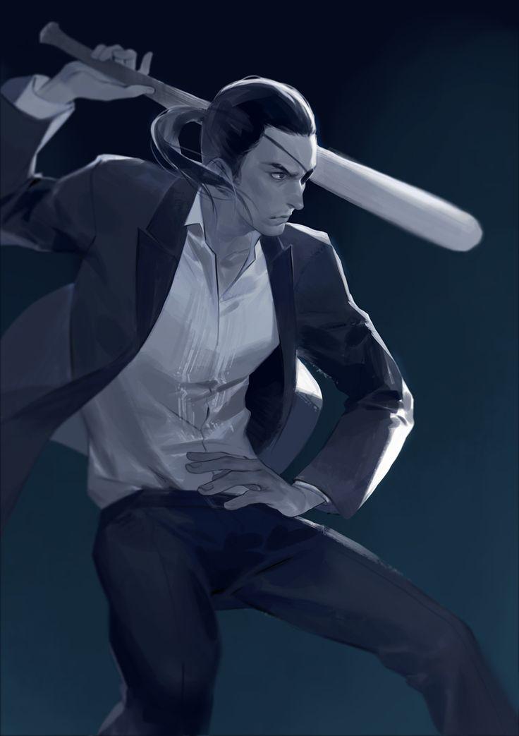 Goro Majima (真 島 吾 朗) - A Handsome and Stylish Japanese Yakuza Male!