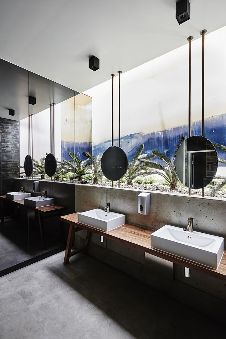 The 25 best public bathrooms ideas on pinterest for Bathroom design restaurant