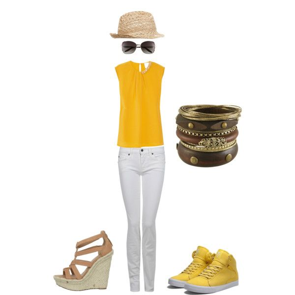 Cute Summer Look, created by assignmentfashion on Polyvore