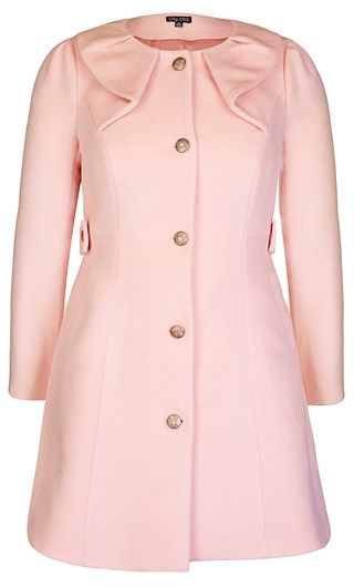 Coat from @City Chic  @Westfield New Zealand #colourfulcoat #winter