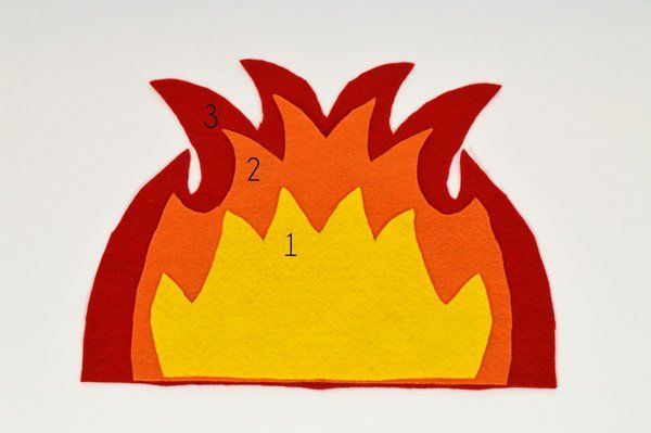17 Best Images About Campfire Felt Diy And Crafts And