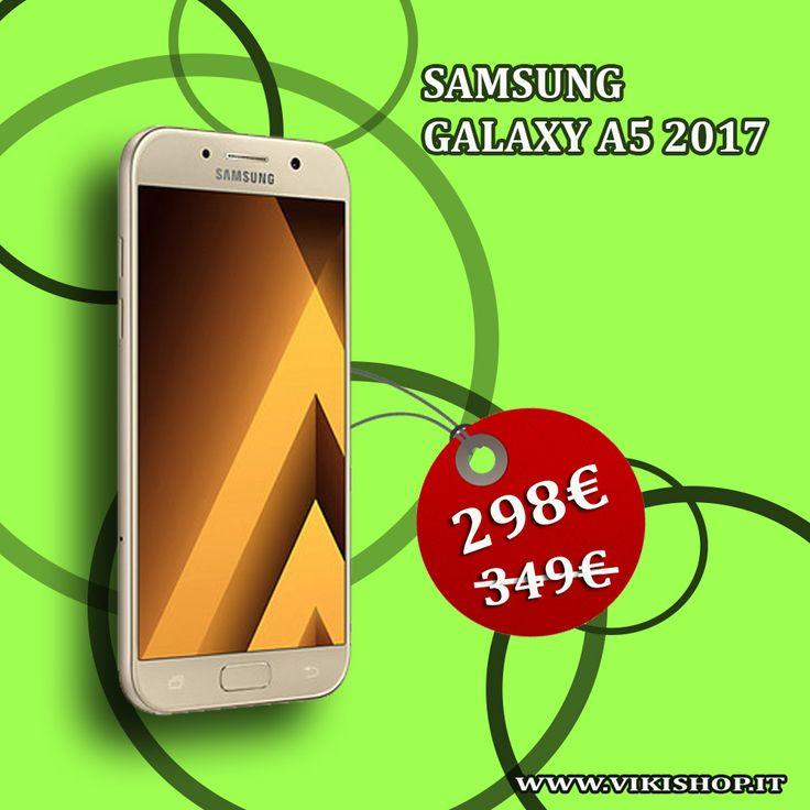 Samsung Galaxy A5 2017 32GB Italia | Spedizione Gratuita  https://lnkd.in/ffNpXUZ #samsunga5 #galaxya5 #samsunga52017 #samsunga5italia #galaxya52017 #spedizionegratis #vikishop #natale2017