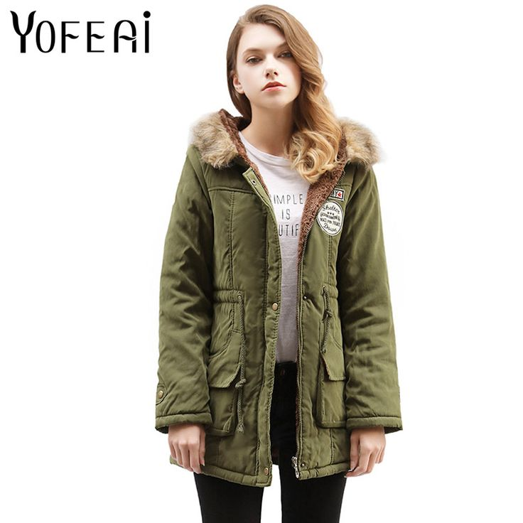 >> Click to Buy << YOFEAI NEW 2017 Winter Coat For Women Fleece Jacket Women Long Style Hooded Cotton Jacket Fashion Loose Casual Coat Warm Parka  #Affiliate