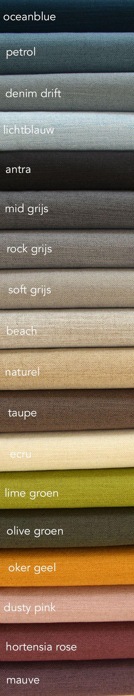 100% verduisterende gordijnen die ook nog eens mooi zijn en soepel vallen. Kies dan voor stof bonaire, verkrijgbaar in 18 kleuren. Vraag gratis talen aan via de site echtgordijn.