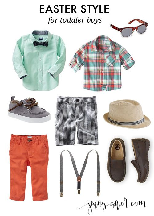 easter style for toddler boys