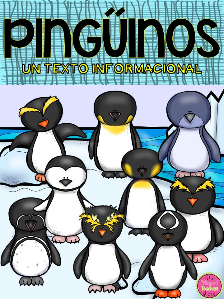 The Penguins in Spanish is an informational document that details some of the penguins that live in the world and their characteristics. 	The document includes 12 task cards with information about the different kinds of penguins covered in this article. It also includes puzzles, a graph showing the parts of the Emperor Penguin, facts about the penguins and habitats where penguins live and how their lives are in extinction. $6.50