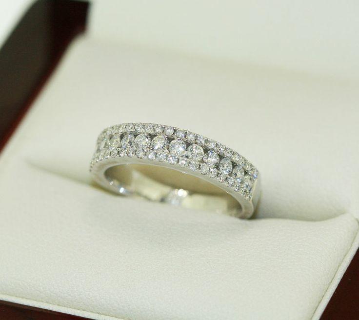 HOw stunning !  Diamond wedding band by Diamonds International   #love #sparkle #diamond #engagement #ring #diamondsinternational #wedding #band