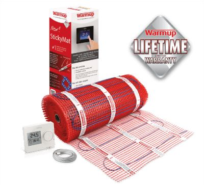 Underfloor heating is one of the most cost effective ways to heat your home.  Call us now to ask about our lifetime warranty and free next day delivery.