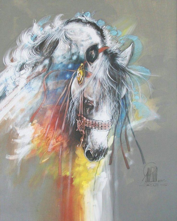 Caballos en Pintura Moderna Decorativa | Pinturas al Óleo