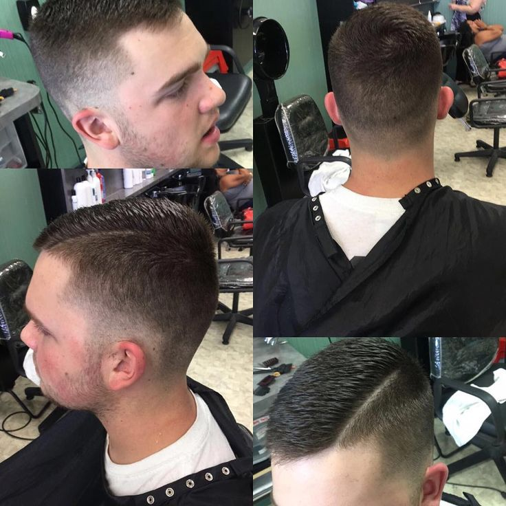 So I've never posted a fade yet I do them almost every single day. I was pretty proud of that line because i have always been so scared to do them and I've only done a few. I'm proud of how much I've learned and how much my confidence in doing hair has grown. #fade #cosmetology #zerofade #line #combover #learning #positive #haircut ����♂️ http://tipsrazzi.com/ipost/1523601888950734738/?code=BUk69h6Bc-S