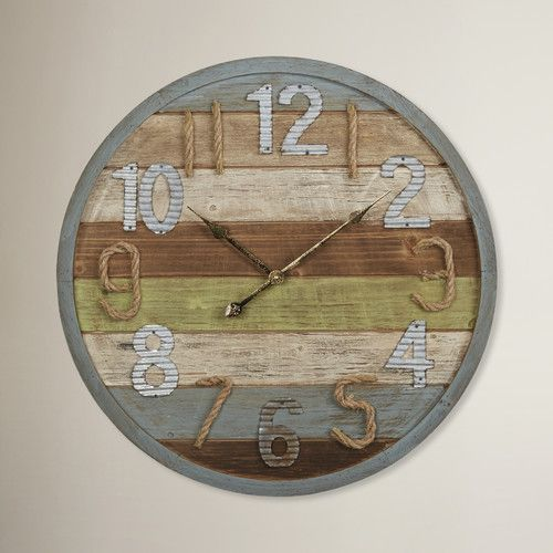 "Found it at Wayfair - 27.5"" Wall Clock"