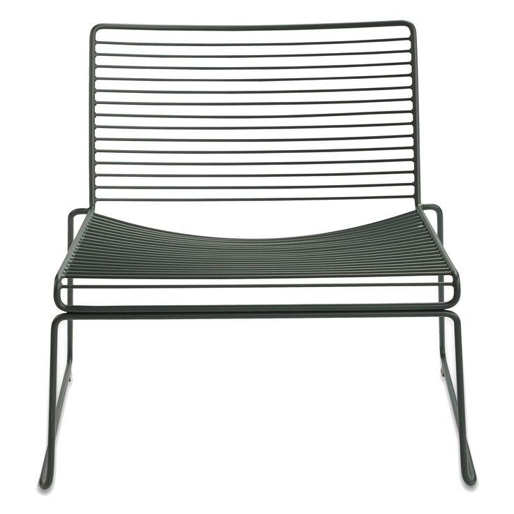 Hee Lounge Chair från Hay. En stilren loungestol i enkel skandinavisk design. Filosofin bakom H...