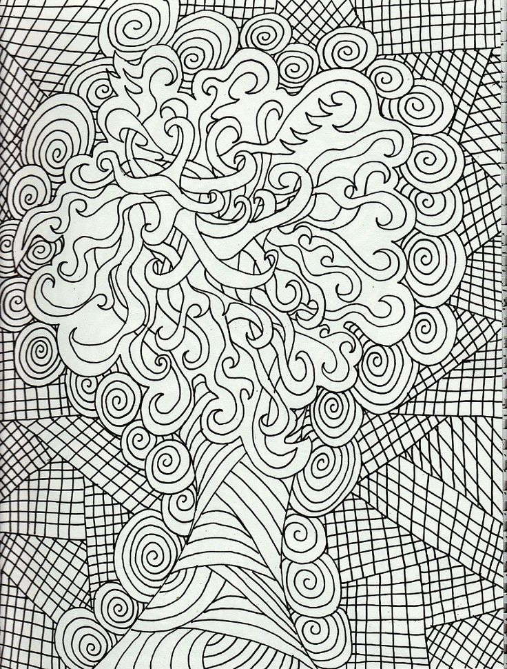 7 best Abstract Coloring Pages images on Pinterest | Coloring ...