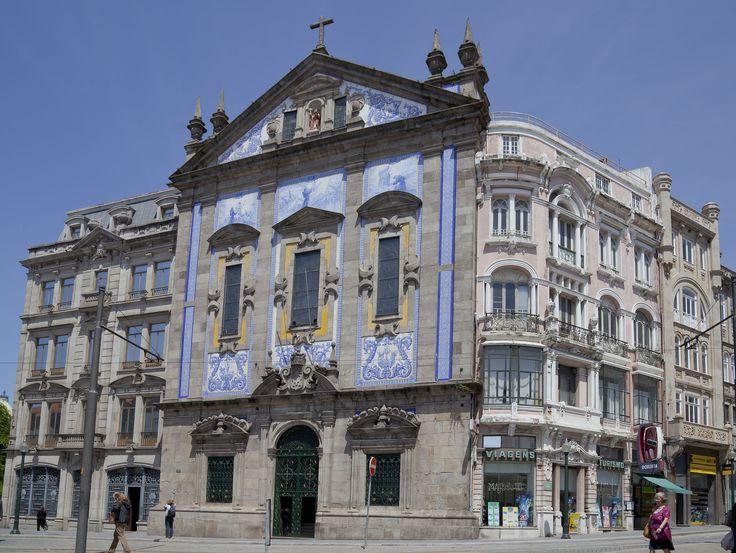 Porto | Igreja dos / Church of Santo António dos Congregados | Jorge Colaço | 1917-1920 #Azulejo #Porto #JorgeColaço