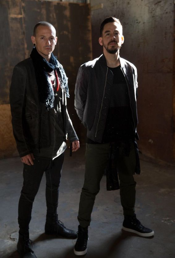 Chester Bennington and Mike Shinoda!!!