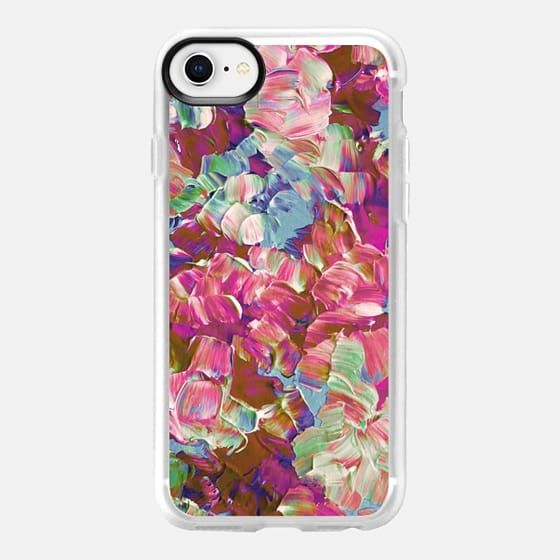 FLORAL FANTASY, SPRING PASTEL, By Artist Julia Di Sano, Ebi Emporium on Casetify, #Casetify #EbiEmporium #CasetifyArtist #pink #floral #flowers #spring #spring2018 #girly #pastel #aqua #magenta #blooms #iphonecase #iphone6 #iphone7 #iphone8 #iphonex #iphone6plus #iphone7plus #iphone8plus #samsung #want #musthave #girly #summer #pretty #tech #painting