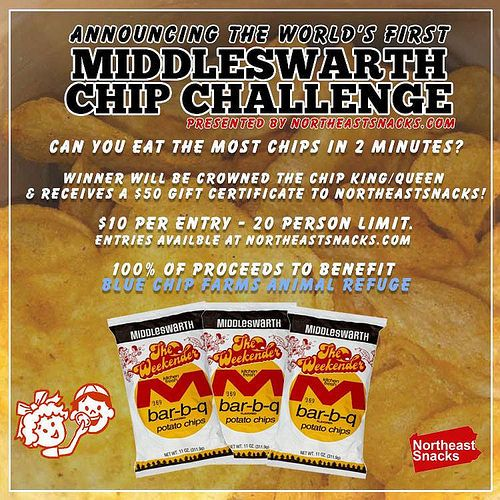 World's 1st Middleswarth Chip Eating Contest announced, benefits charity | NEPA Scene