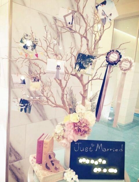 ウェディングツリー♡お譲り予定≧▽≦/ |SODOH&チュールドレス大好きなSaeの結婚式ブログ