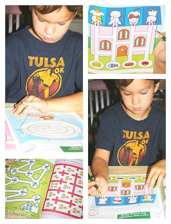 Fine Motor Skills Workbooks for Preschool & Kindergarten