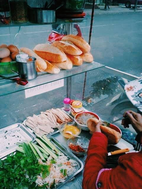 Banh mi, Vietnam! Steeet food in Southeast Asia.