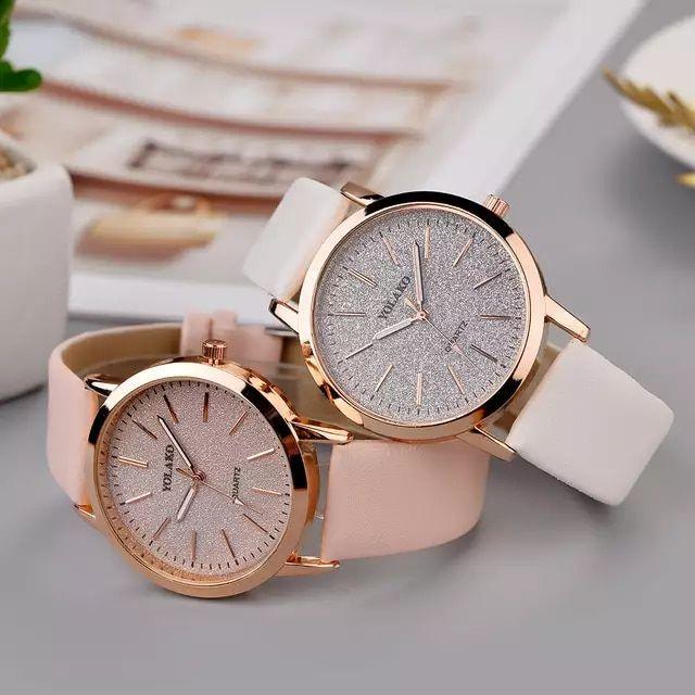 Reloj De Pulsera Analogico De Moda Elegante Para Mujer Pulsera De Lujo Correa De Cuero De Cuarzo Inform Accesorios Casual Relojes Elegantes Relojes Femeninos