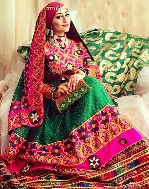 #afghan #style #dress #outfit