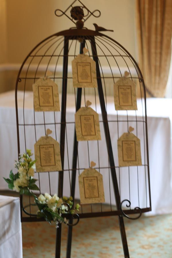 Birdcage table plan ( Real Wedding ~ The Wedding of my Dreams) .theweddingofmydreams & 299 best Weddings images on Pinterest | Wedding ideas Wedding ... azcodes.com