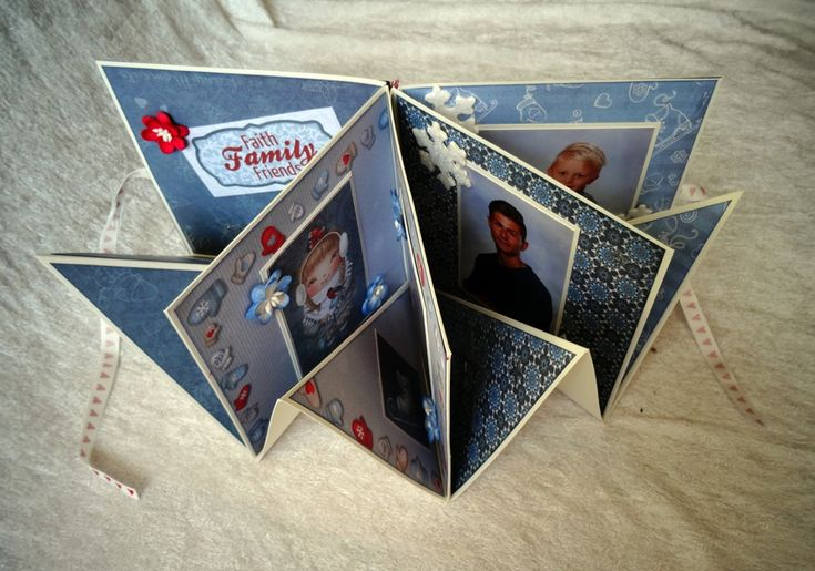 Effektfullt Minialbum som julklapp. - http://kristinasscrapbookingblogg.se/effektfullt-minialbum-som-julklapp/ - Hej!  Idag kommer jag att visa ett minialbum som är perfekt att ge bort i julklapp till t.ex. far- eller morföräldrarna. Detta inlägg är ett samarbete med Foto Nord som har bidragit med bilderna.  Så här ser albumet ut stängt:    Så här ser albumet ut uppifrån när det står öppet:   ...