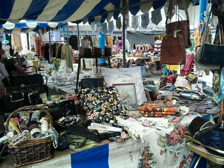 Hay-on-Wye is a very special town and it really comes to life when 'Hay Does Vintage'.