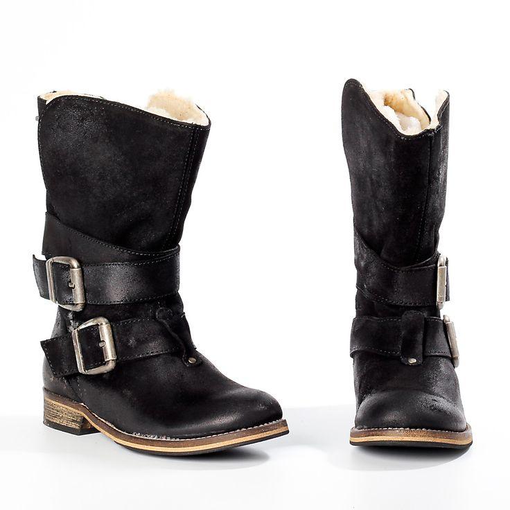 Laima Black Boots