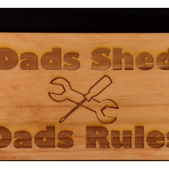 Great gift for dad - DopeyDog Engraving.