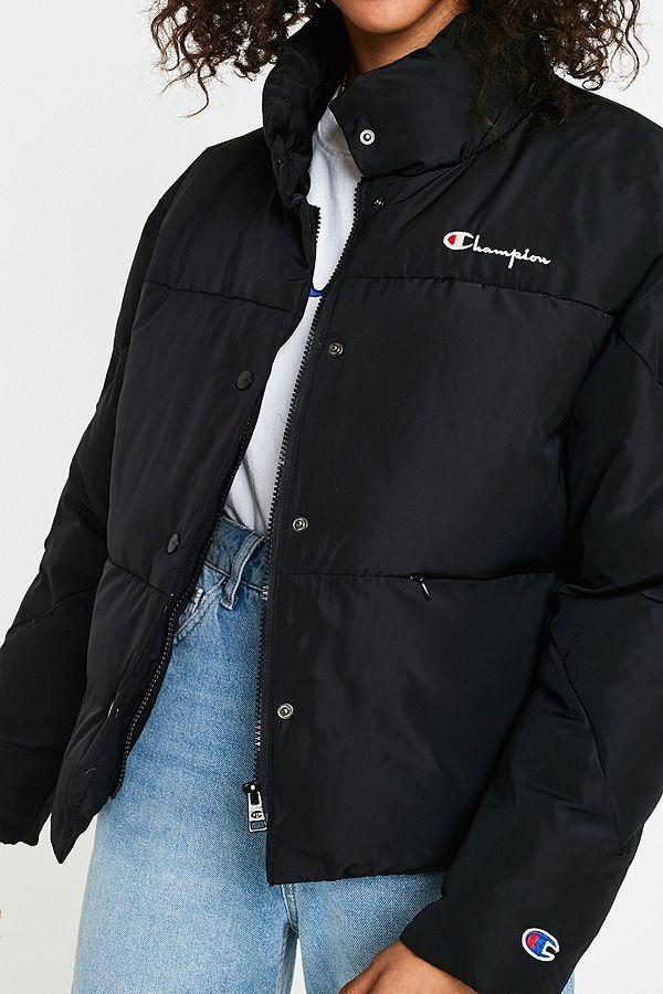 7242662c28 Slide View  5  Champion Padded Black Puffer Jacket