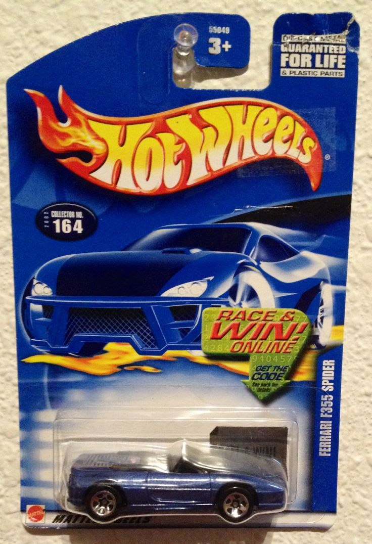 Whitman hot wheels coloring book - Hot Wheels Ferrari F355 Spider Collector 164 2001