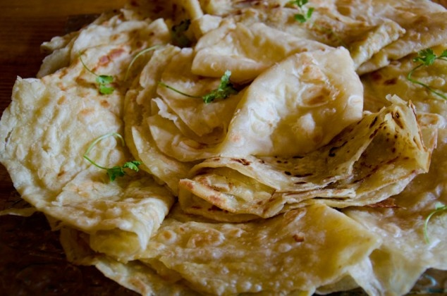 Cape Malay roti recipe. The only thing you need to round off the curry.