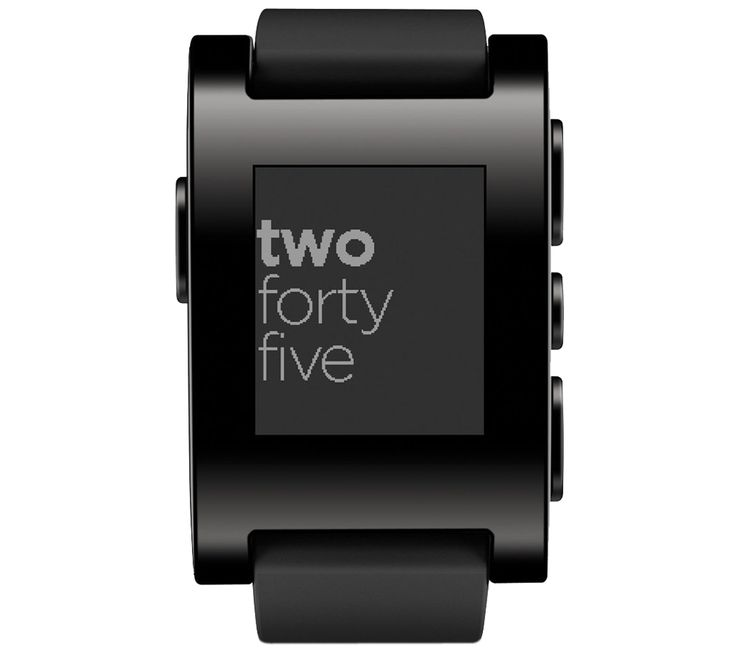 PEBBLE Smartwatch - Black