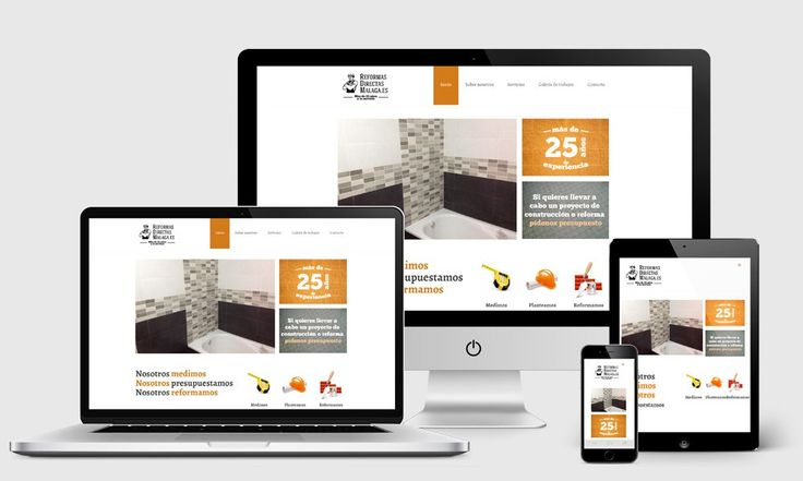 Diseño Web para Empresa de Reformas. Diseño Web en Málaga, diseño de páginas web corporativas, webs málaga, diseño web málaga.