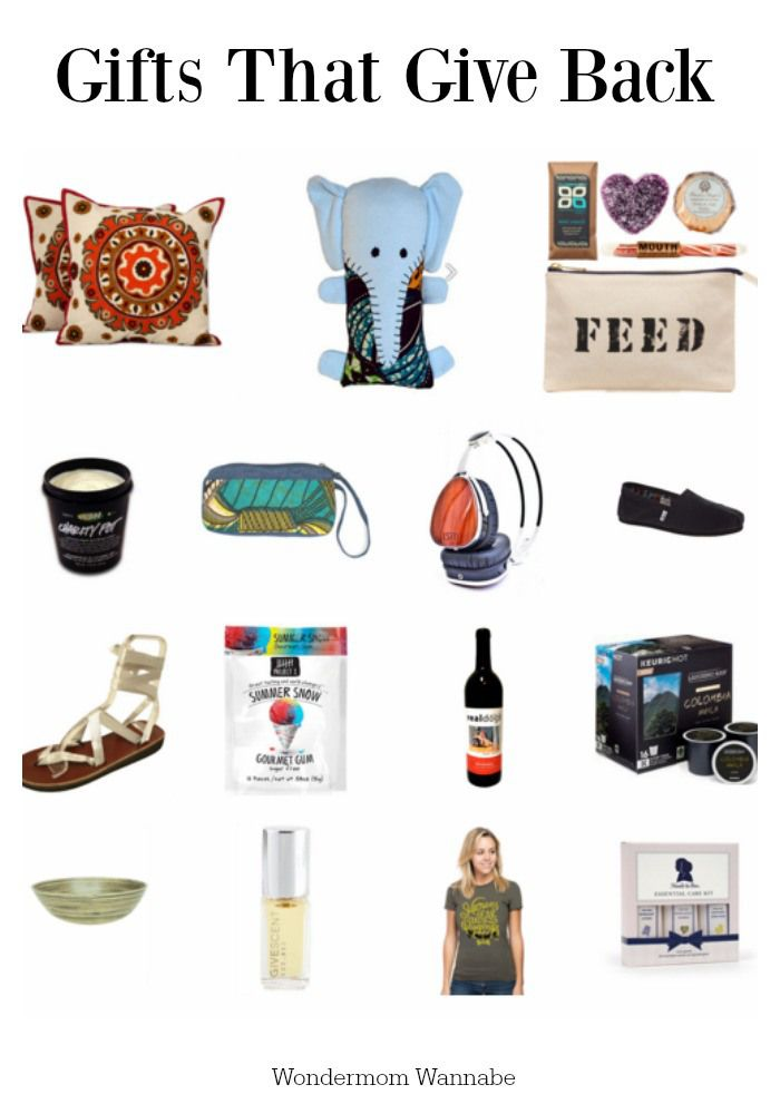 Your holiday shopping dollars can make an even bigger impact when you choose gifts that help support charities. Here's a selection of some of the best (and most affordable) gifts that give back.