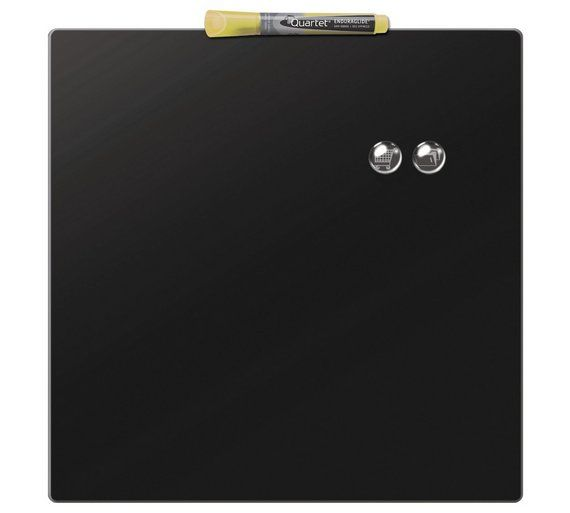 Buy Magnetic 360x360mm Square Tile - Black at Argos.co.uk - Your Online Shop for Office supplies, Home office, Technology.