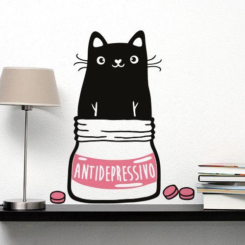 01232 - Antidepressivo naturale di Wall Art - Adesivi Murali su DaWanda.com