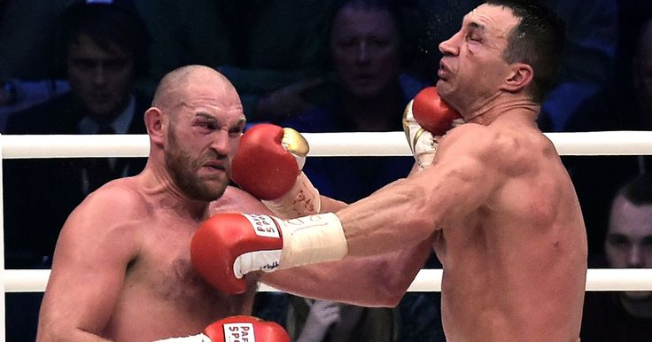 Tyson Fury vs Wladimir Klitschko.Fury Wins