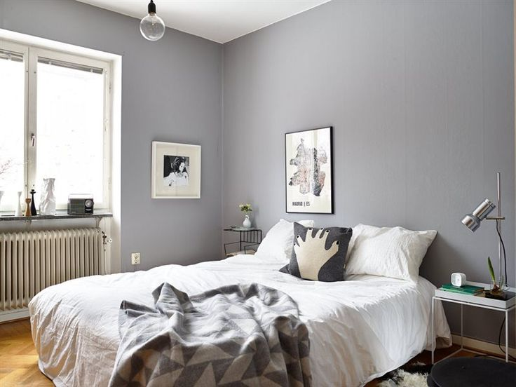 grey walls in Scandinavian bedroom   Incredible Grey Walls Bedroom Design   Grey  Walls Bedroom Design   Pinterest   White bedding  Bedrooms and Scandinavian. grey walls in Scandinavian bedroom   Incredible Grey Walls Bedroom