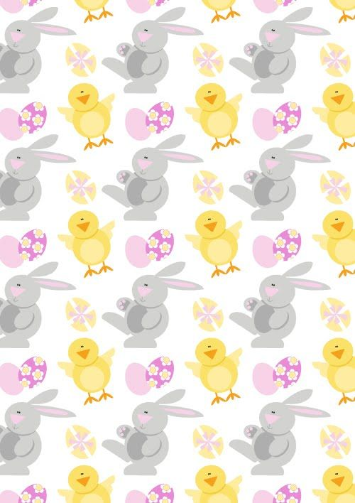 EASTER FLOWER patterns | The rest can all be found in my funky animals portfolio - all vector ...