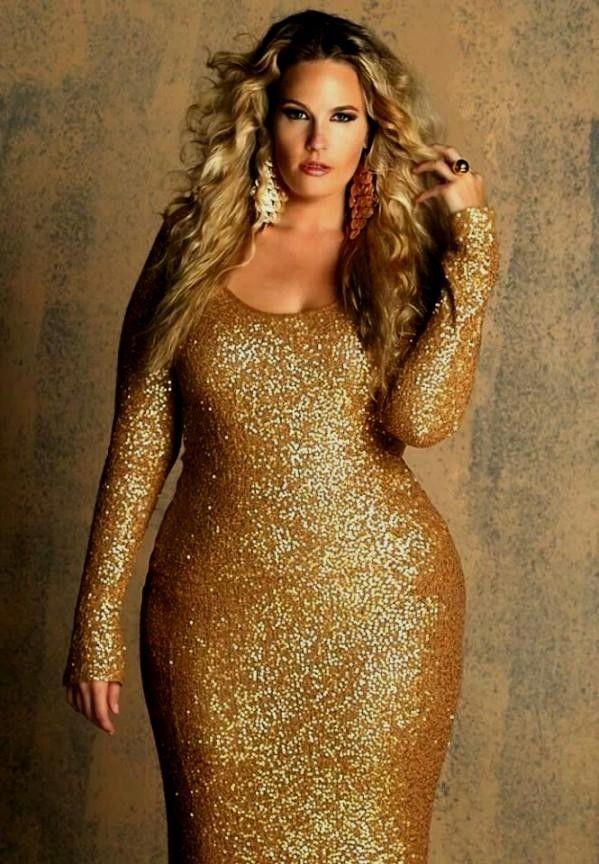 cutethickgirls.com gold plus size dresses (18) #plussizedresses