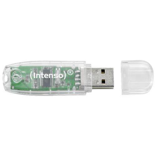 Memoria USB 32GB intenso transparent rainbow line ref: 3502480 #ofertas #regalos #regalar #tienda #madrid #españa