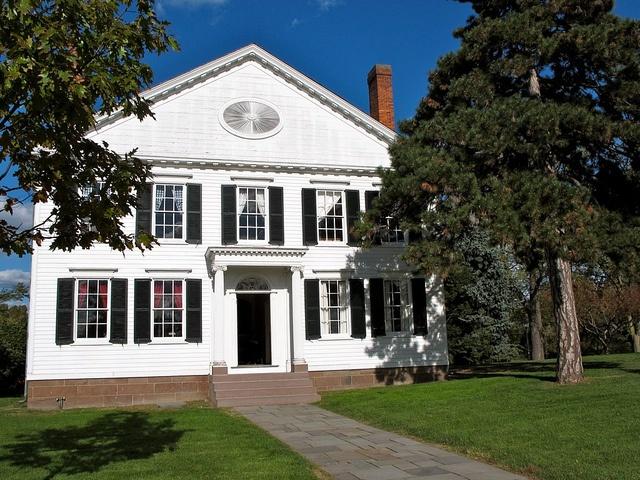 Noah Webster House - Circa 1823 - West Hartford, Connecticut.